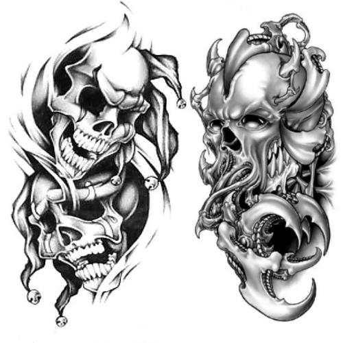 Wzór Tatuażu Czaszka Monika Wypożyczalnia Sprzętu